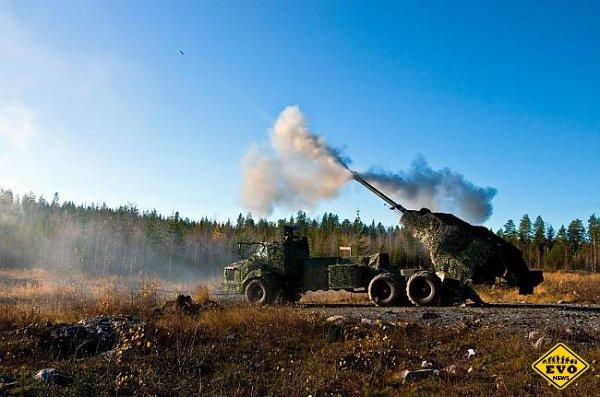 Самая быстрая САУ в мире - Archer Artillery System (8 выстр./мин)