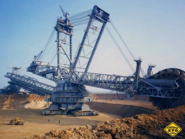 Мега машины гигантских размеров, невероятной силы и мощности