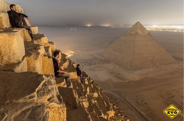 Вид с пирамиды Хеопса (Мега фото)