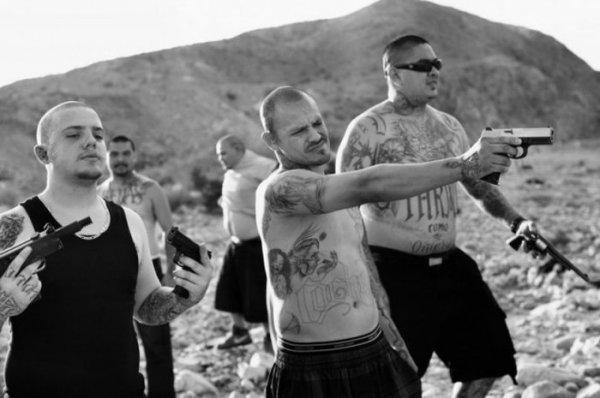 Калифорнийская банда мексиканцев (Фото подборка)
