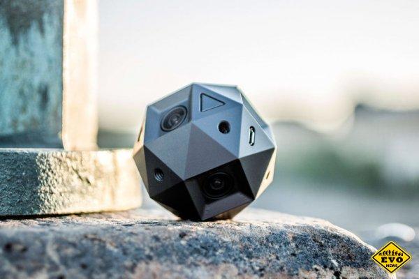 Камера Sphericam 2 будет поддерживать запись видео 360º