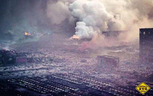 Мощнейший взрыв в Китае: десятки погибших, сотни раненых