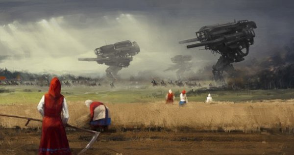 На стыке двух времен - иллюстрации Якуба Розальского