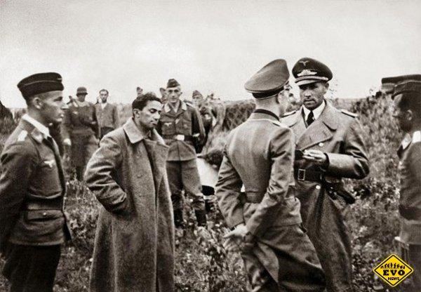 Сын Сталина Яков Джугашвили в плену немцев в 1941 году