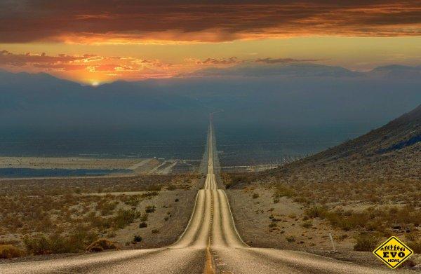 Дорога через долину смерти, Калифорния