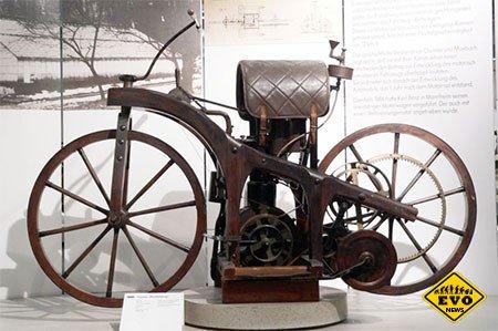 Знаете ли Вы - кто придумал первый мотоцикл?