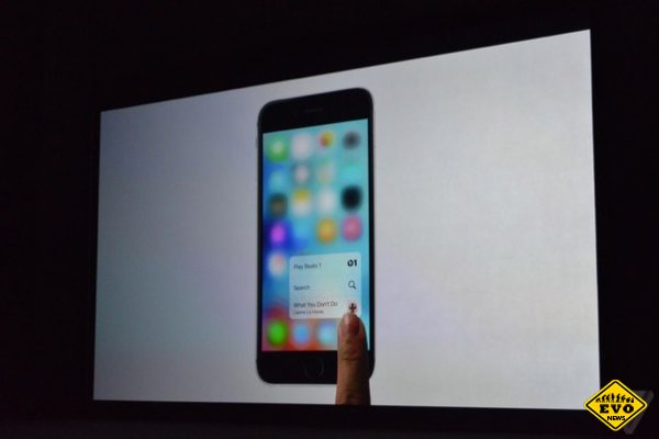 Apple представила iPhone 6S и iPhone 6S Plus c 3D Touch