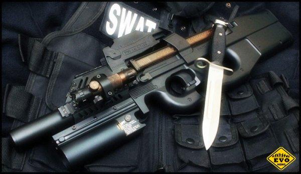 Бельгийский пистолет-пулемёт FN P90
