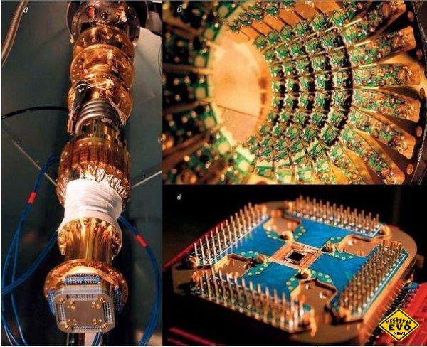 Первый работающий квантовый компьютер D-Wave 2X