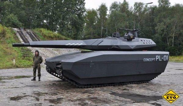 PL-01: термально и радионевидимый польский танк