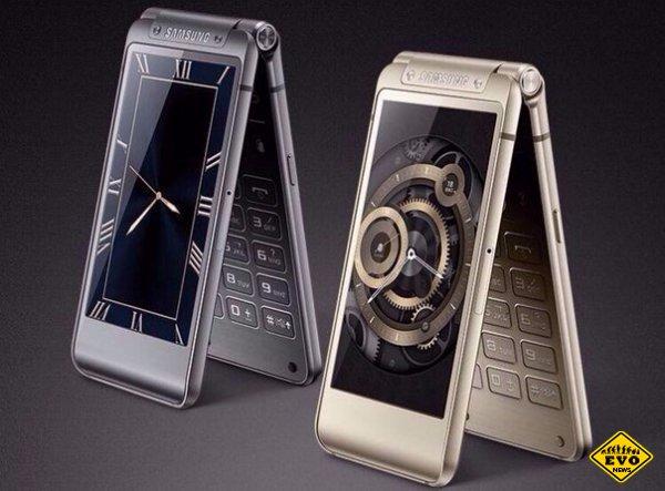 Samsung W2016: смартфон-раскладушка с 8-ядерным процесором