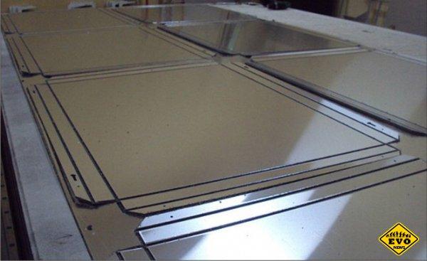 Методы обработки алюминиевых панелей