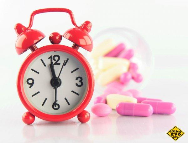 Идеальное время для лекарств