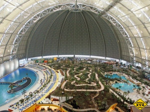 Самый большой аквапарк мира