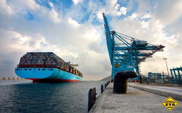 Emma Maersk – самый длинный контейнеровоз