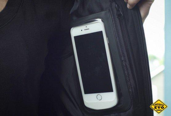 BauBax выпустит одежду с беспроводной зарядкой для гаджетов
