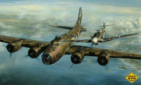 История летчиков во время 2 Мировой в небе над Ла-Маншем