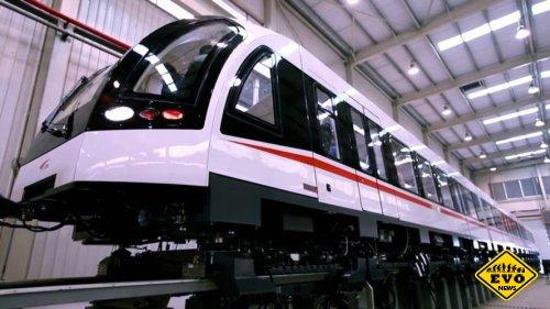 В Китае разрабатывается новый поезд на магнитной подушке