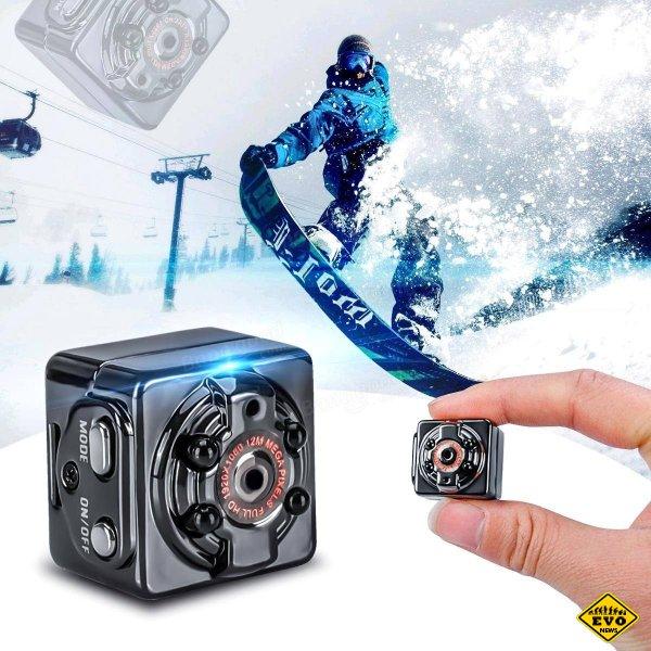SQ8 - мини камера с датчиком движения и ночной сьемкой