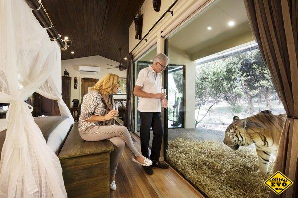 Jamala Wildlife Lodge - необычный отель в зоопарке, Австралия