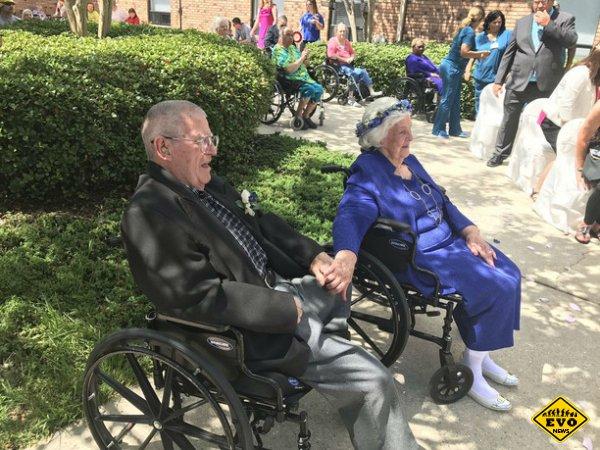 Они нашли свою любовь в доме престарелых