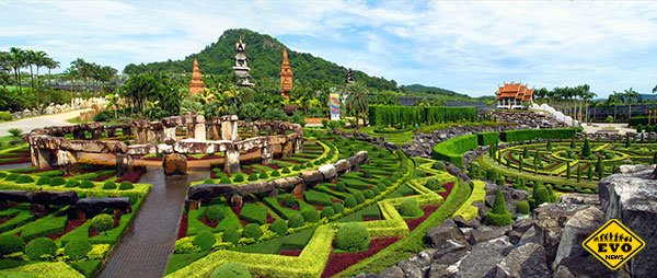 Сад «Suan Nong Nooch» – Таиланд