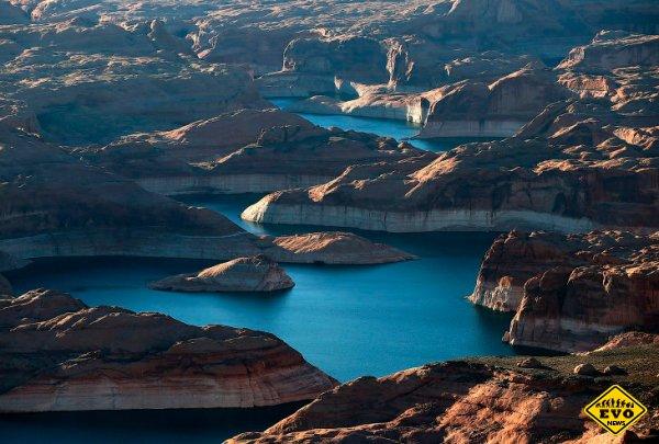 Великая засуха на западе США