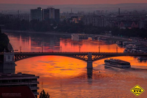 Будапешт: рассветы… закаты