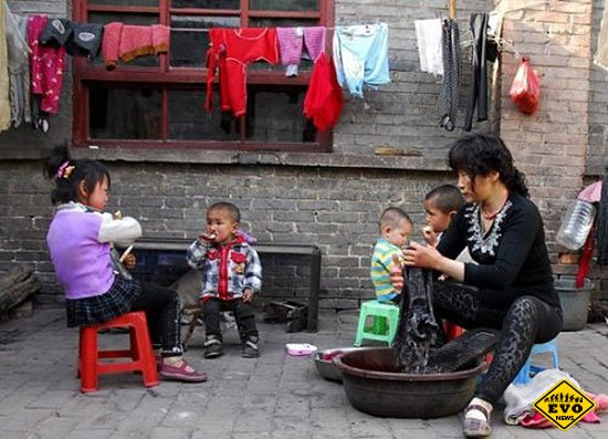 80 приемных детей Китайской Матери Терезы