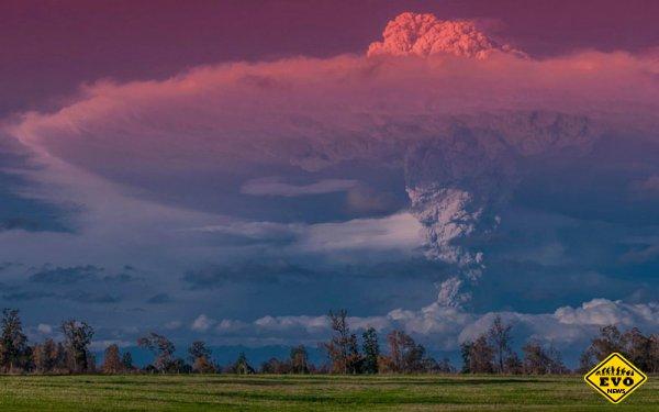 Сногсшибательные фотографии извержения вулкана