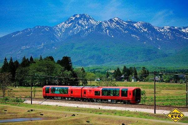 Поезд-ресторан в Японии