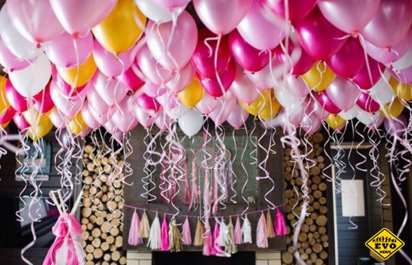Шарики под потолок: создайте незабываемый праздник