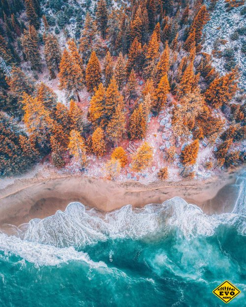 Аэрофотографии красочных пейзажей, сделанные фотографом Ниязом Уддином