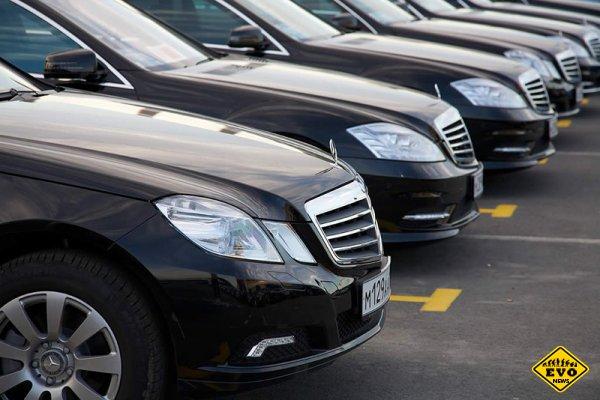Аренда представительских автомобилей в Санкт-Петербурге.