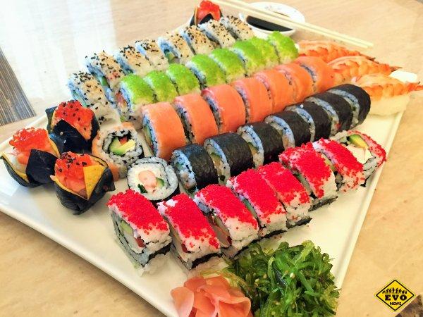 Суши – популярное блюдо японской кухни