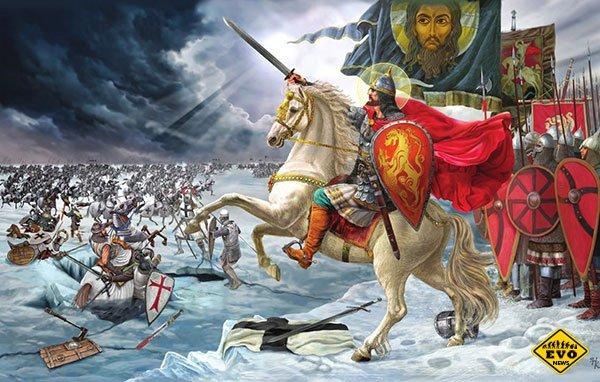 Битва на Чудском озере, вошедшая в историю под названием Ледовое побоище