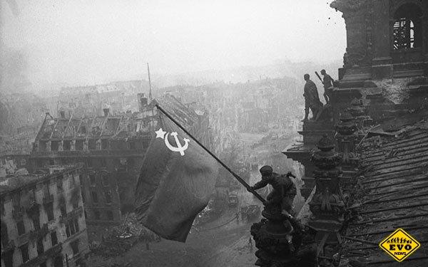 30 апреля 1945 г. Советские воины водрузили Знамя Победы над рейхстагом в Берлине