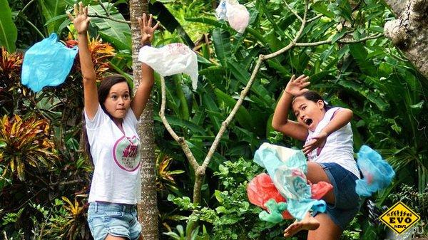 Спасение острова Бали двумя девочками