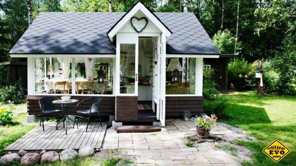 Простейшая летняя кухня и строительные материалы для ее постройки