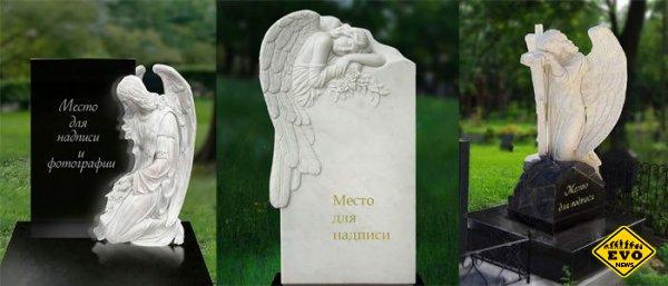 Монументы на могилу из натурального гранита от компании