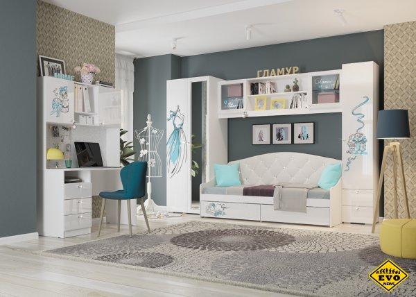 Как легко задекорировать стены и мебель в детской?