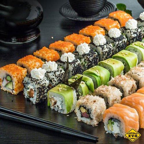 Выбираем доставку суши на дом